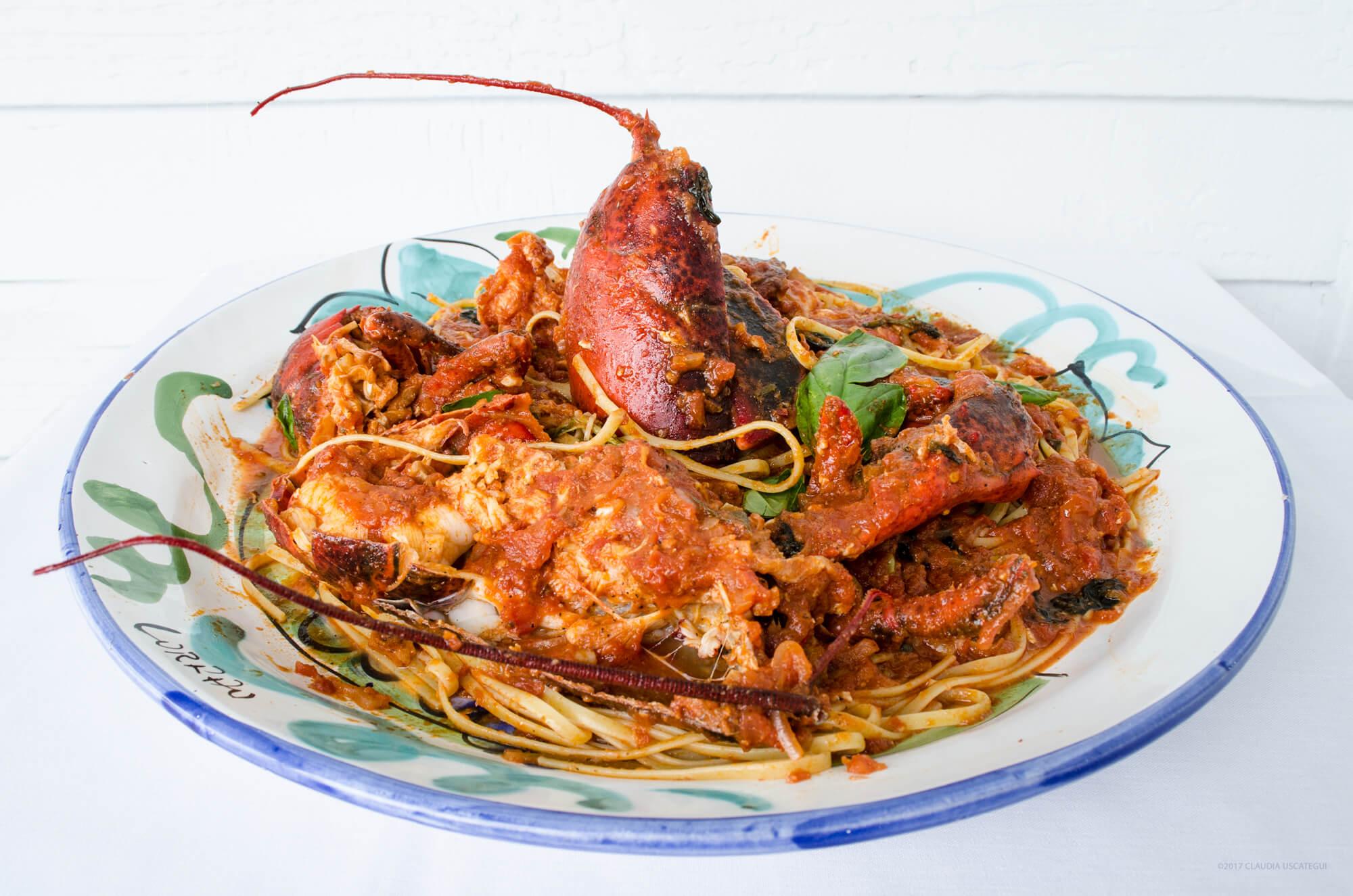 Lobster Fra Diavolo, iL Giardino Aquebogue, NY